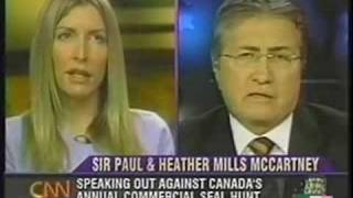 Paul & Heather Mills McCartney vs Danny Williams  PT 1 CNN Larry King Live