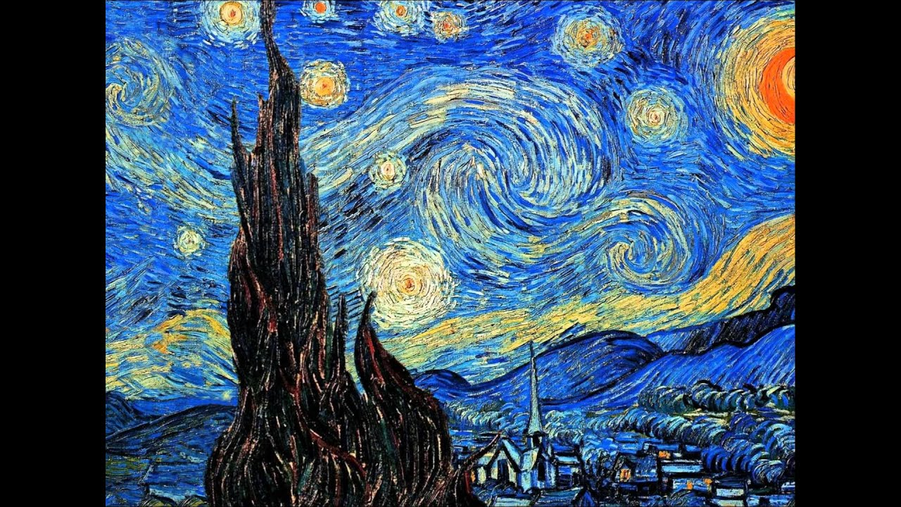 a research of the painting styles and techniques of vincent van gogh