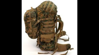 iLBE MARINE MARPAT PACK, BUGOUT BAG, I.N.C.H. BAG/ REVIEW