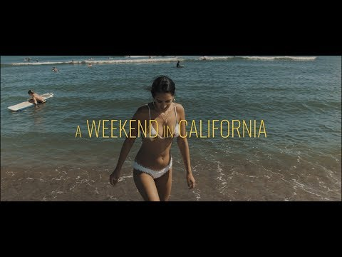 A Weekend in California | Blackmagic Pocket Cinema Camera