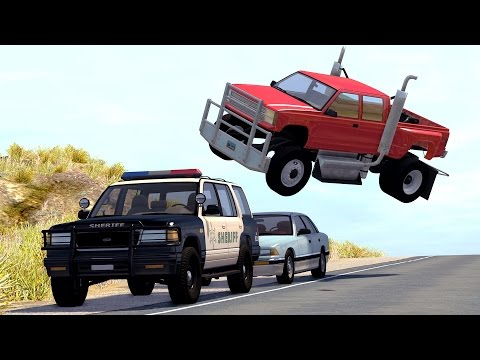 Thumbnail: Realistic High Speed Crashes #17 - BeamNG Drive