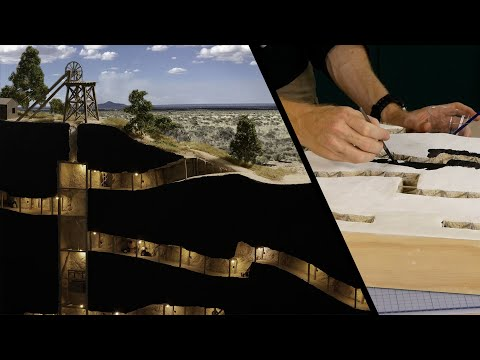 An underground gold mine – Realistic Scenery Volume 9