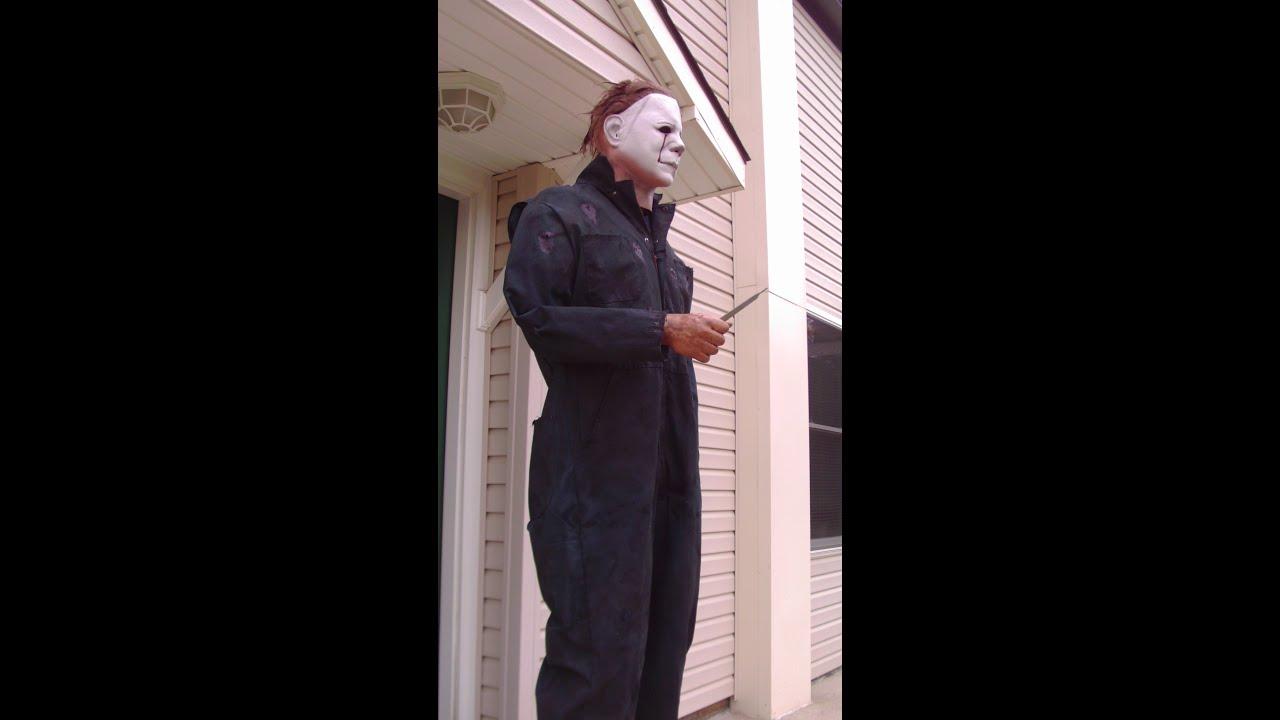 & Halloween II Michael Myers Coveralls Costume Life-sized - YouTube