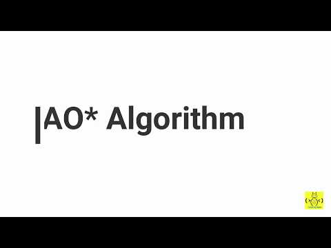 Artificial Intelligence - AO* algorithm
