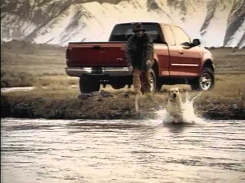 90's Ford Truck Commercial   - FORD COUNTRY  Alan Jackson (1 of 2)