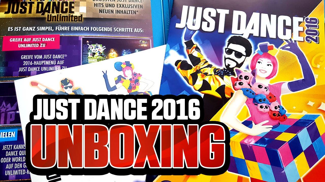 just dance 2016 unboxing wii u youtube. Black Bedroom Furniture Sets. Home Design Ideas