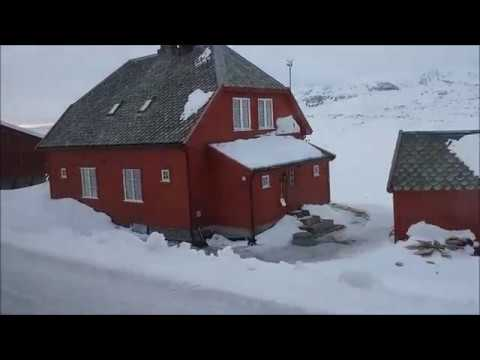 Norwegian train trip Finse-Geilo (Hardangervidda National Park) 2017