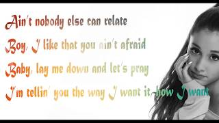 God is a woman - Ariana Grande   ( LYRICS VIDEO) (2018)  (320kbps Quality)