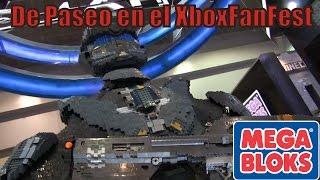 XboxFanFest con MEGA BLOKS y armando UNSC KODIAK SIEGE CANNON de HALO