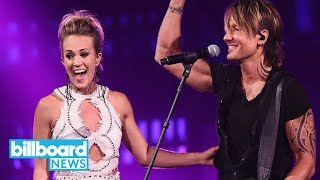 Download Keith Urban & Carrie Underwood Perform 'The Fighter' at CMT Music Awards 2017 | Billboard News MP3 song and Music Video