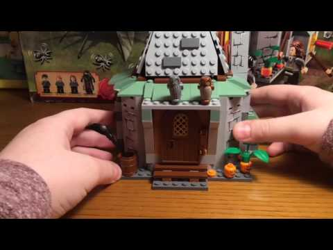 Обзор набора Lego 4738 Hagrid's Hut / Harry Potter