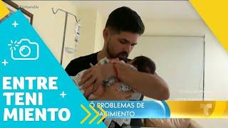 Ferdinando Valencia despidió a Dante, su bebé de 3 meses   Un Nuevo Día   Telemundo