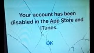 Fix Error Your Account Has Been Disabled in the App Store and iTunes Apple iPhone
