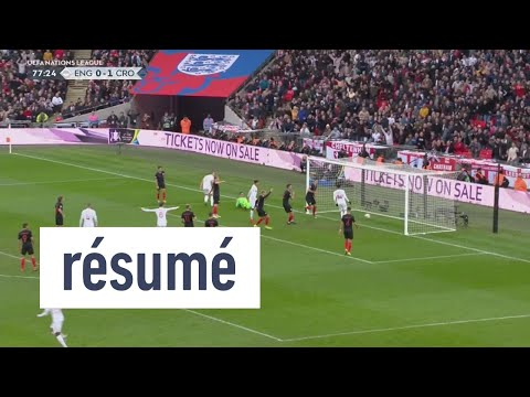 Les temps forts d'Angleterre-Croatie - Foot - L. nations