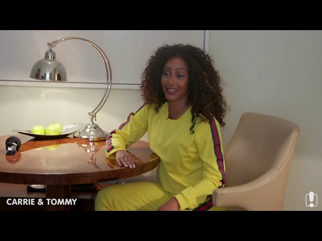 Mel B Scares and Surprises Australian Fans! | Carrie & Tommy