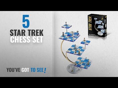 Top 10 Star Trek Chess Set [2018]: Franklin Mint's Official 50th Anniversary STAR TREK
