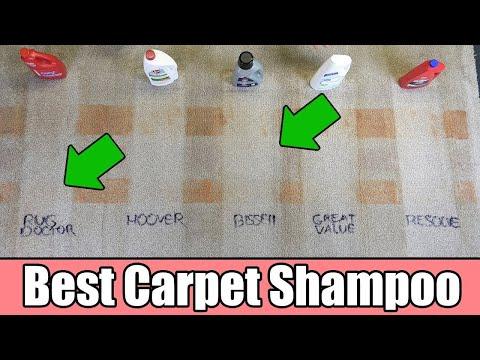 Best Carpet Cleaning Shampoo - 5 TESTED - Bissell Vs Rug Doctor Vs Hoover Vs Resolve