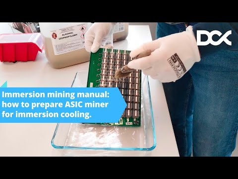 Immersion Mining Manual: How To Prepare ASIC Miner For The Immersion Cooling?