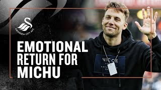 michu-makes-emotional-return-to-the-swans-interview-amp-bts