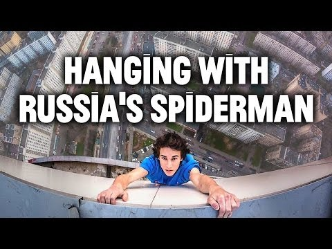 A BTS Look at the Russian Daredevils Who Take Selfies While Dangling Off Buildings