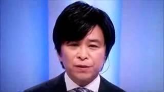 日本の大震災。 山田アナウンサーと武田真一キャスターの行動。