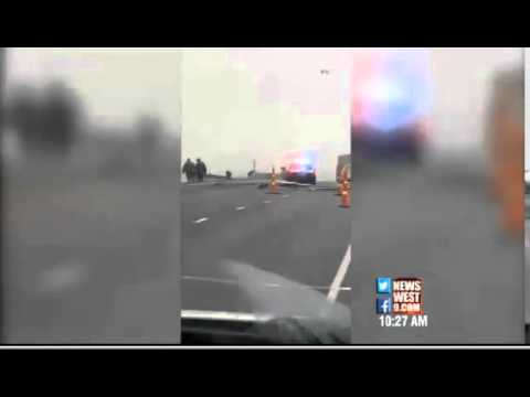 Texas Prison Bus Crash 10 Dead VIDEO Prison Bus Accident Hit by train   Texas Bus Wreck