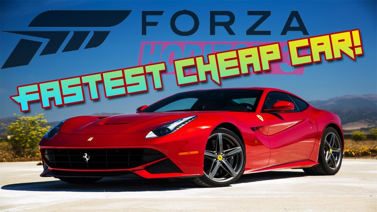 FASTEST CHEAP CAR - Forza Horizon 3 - YouTube