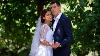 Свадебный клип: Венчание во Владимирской церкви. Романтичный свадебный клип.