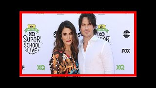 Nikki reed and ian somerhalder make first red carpet appearance since welcoming baby   CNN latest n