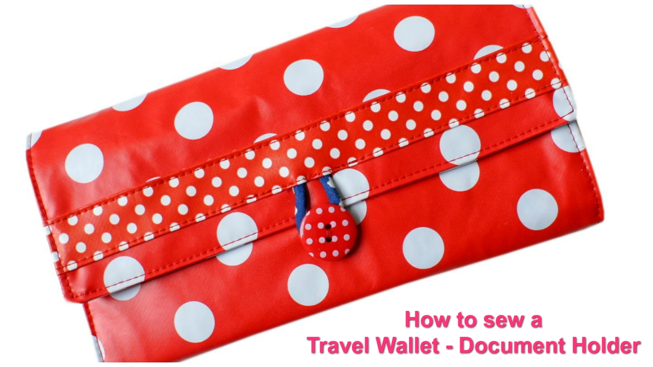 How to sew a travel wallet free pattern youtube how to sew a travel wallet free pattern jeuxipadfo Image collections