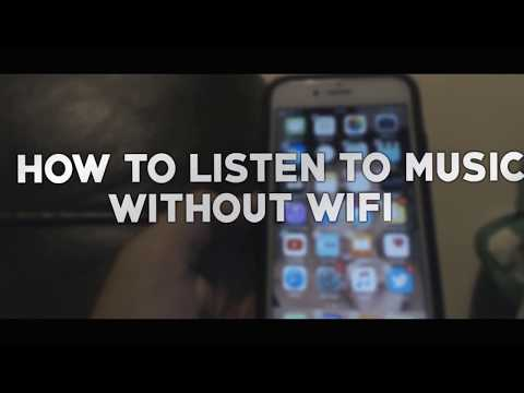 HOW TO LISTEN TO MUSIC WITHOUT WIFI ON ALL IOS DEVICES! 2017/18