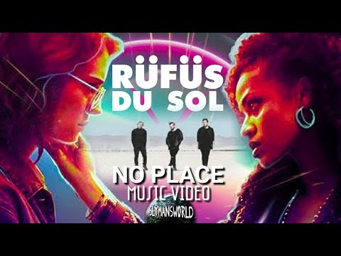 RÜFÜS DU SOL - No Place - Music Video (Black Mirror)