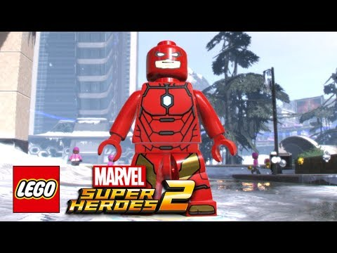 LEGO Marvel Super Heroes 2 - How To Make The Flash (Ezra Miller)