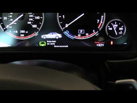 How To Reset Service Lights 2014 BMW 550i