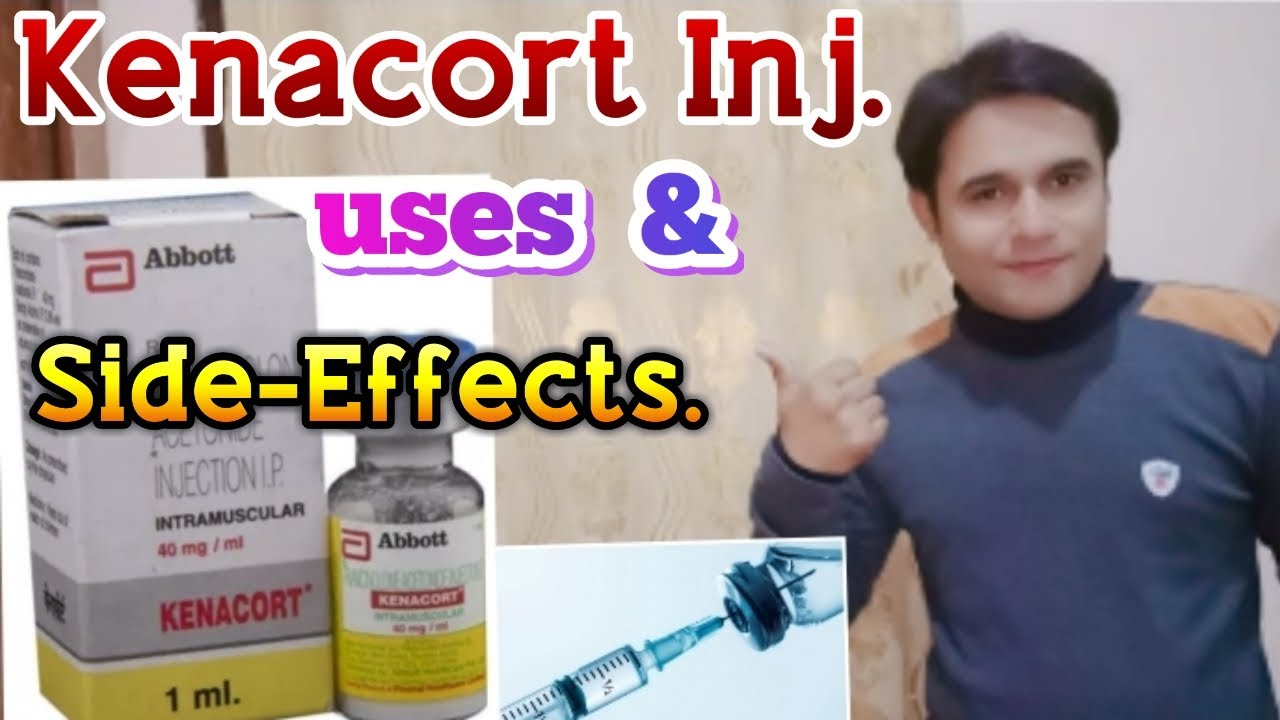 Kenacort injection uses & side effects - Control Joint Pain