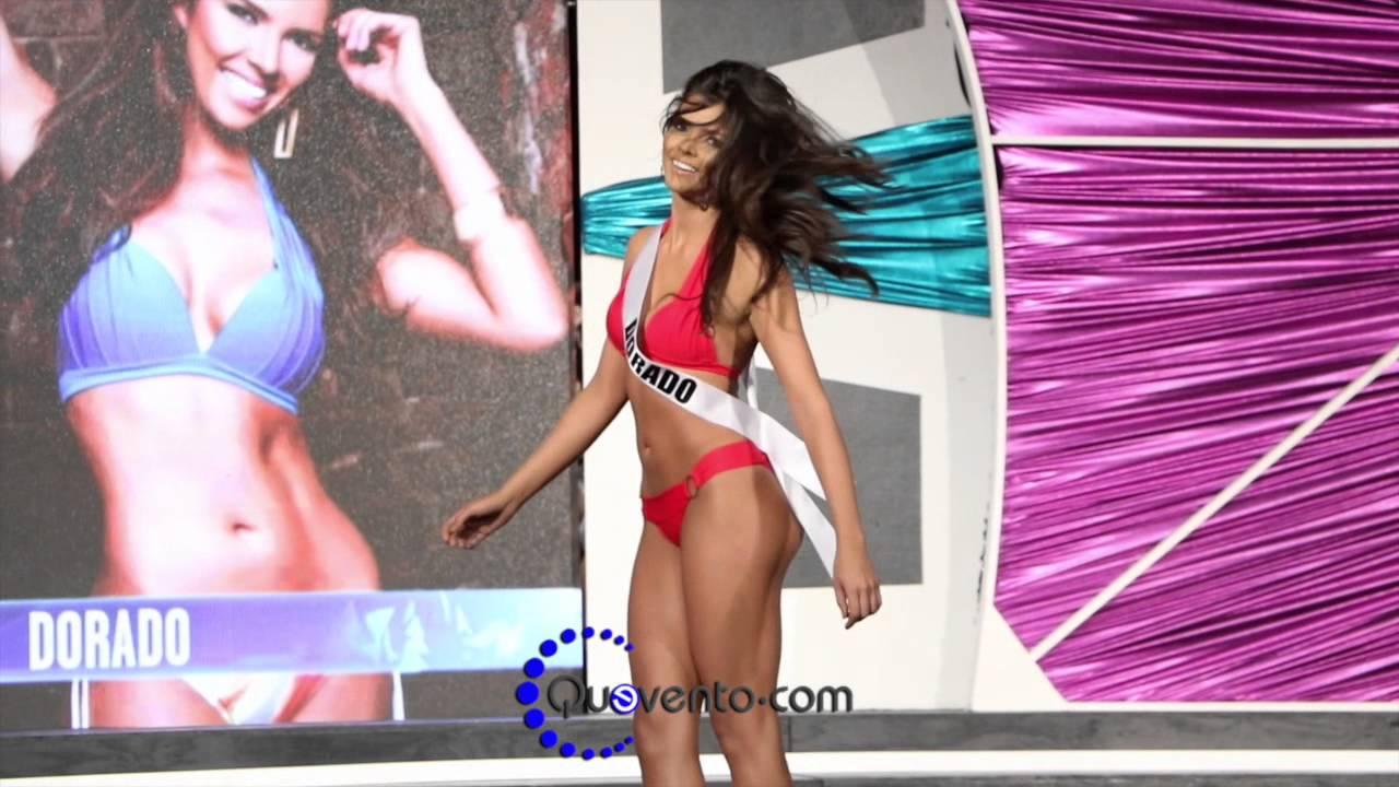 8178e3d4e Miss Puerto Rico Universe 2016 - Competencia Traje de Baño - Preliminar -  YouTube