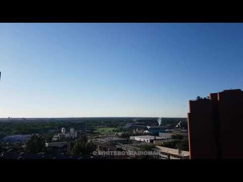 CF-18 Hornets Fly Over Edmonton Eskimo Home Opener June 30, 2017