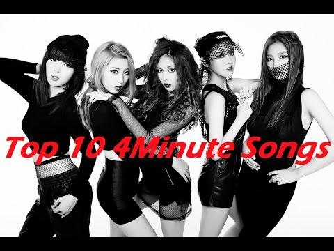 Top 10 4Minute Songs