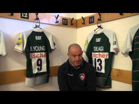 #ImagineChange Moments: Richard Cockerill looks ahead to Gloucester Rugby