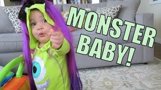 MONSTER BABY!!! - March 17, 2015 ItsJudysLife Vlogs