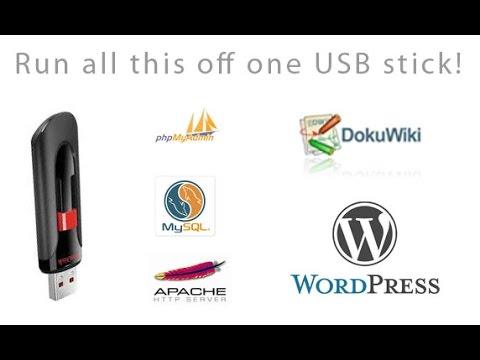 Create a Portable Web Server with USB