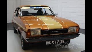 Ford Capri 1600 MKII 1974 -VIDEO- www.ERclassics.com