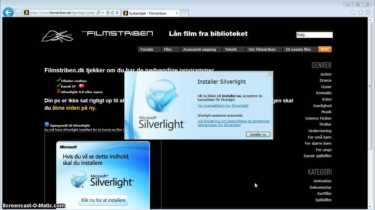 silverlight dansk