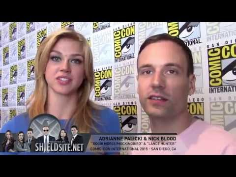 SDCC: Adrianne Palicki & Nick Blood  Marvel's Most Wanted