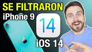 SE FILTRAN iOS 14 y el NUEVO iPhone 9 ¿DE VERDAD SERÁN ASÍ? 😱