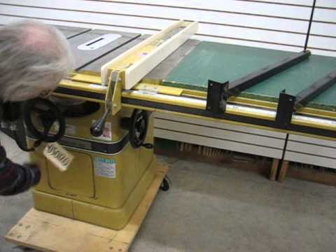 Sold Used Powermatic Model 66 Table Saw 5hp Us0120 Youtube