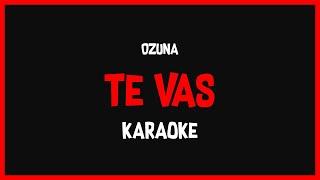 Karaoke: Ozuna - Te Vas 🎤🎶
