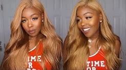 🍯 Honey Blonde #27 Custom Wig, NO Bleaching or Processing! Yolissa Hair