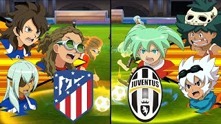 Inazuma Eleven UCL ~ Atletico Madrid vs Juventus ※Pokemon Anchor※