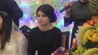Салихат Омарова на свадьбе в Маджалисе